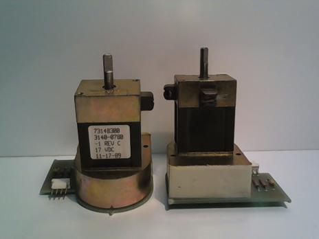 7314B300 3140-0780-1 REV.C 17VDC ( Мотор с щелевым датчиком )